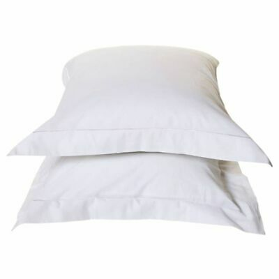 Emotion 2 pcs Non-iron Pillowcases Bedroom Pillow Cases Covers White 0222.00.71