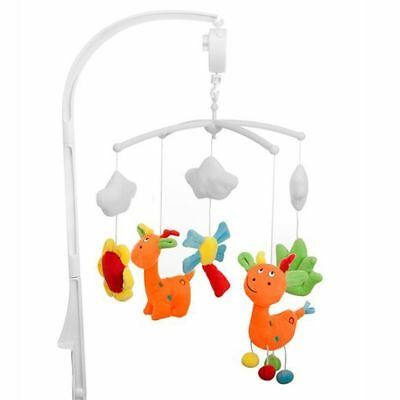 Baninni Nursery Cot Crib Cradle Musical Mobile Toy Sounds Giraffe BNMM006-GRF