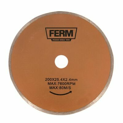 FERM Diamond Cutting Saw Blade Sawing Floor/Wall Tiles for Tile Cutter TCA1006
