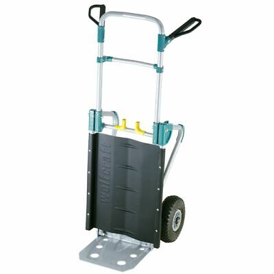 wolfcraft 200kg Sack Truck Folding Hand Cart Transport Trolley TS 1000 5520000