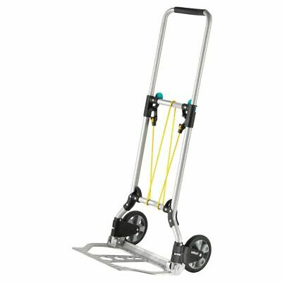 wolfcraft 70kg Sack Truck Folding Hand Cart Transport Trolley TS 600 5505000