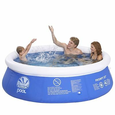 Jilong Inflatable Marin Pool Set Round 240x63cm Above Ground Swimming Centre