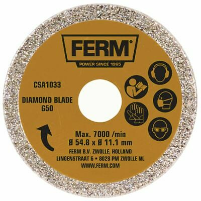 FERM Diamond Cutting Saw Blade 54.8 mm Steel Board Brick Stone Concrete CSA1033