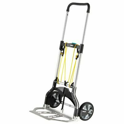 wolfcraft 100kg Sack Truck Folding Hand Cart Transport Trolley TS 850 5501000
