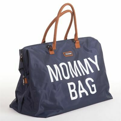CHILDWHEELS Baby Nursery Bag Storage Tote Nappy Diaper Mommy Big Navy CWMBBNA