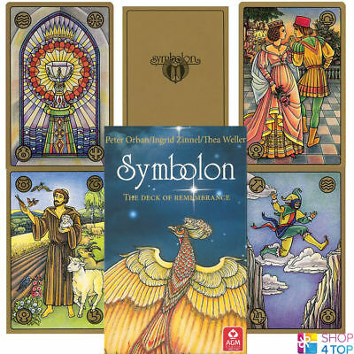Symbolon Pocket Tarot Deck Cards Esoteric Fortune Telling Agm New