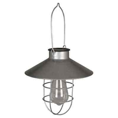 Luxform Solar LED Hanging Light Ravenna Silver Outdoor Decor Lighting 40103