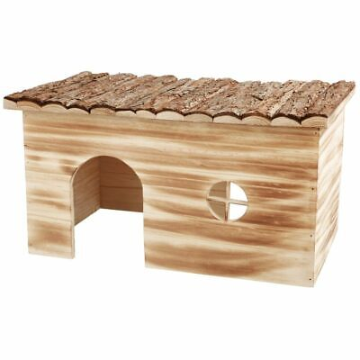 TRIXIE Rodent Mice Hamster House 45x24x28 cm Wood Natural Living Grete 61975