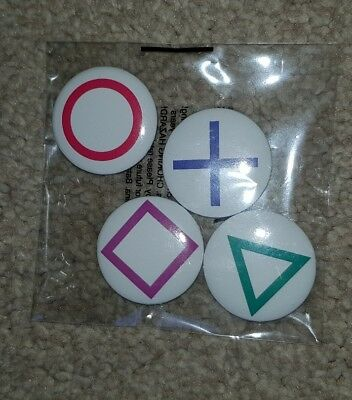 PlayStation Official Magazine #146 March 2018 Playstation Pin Badges