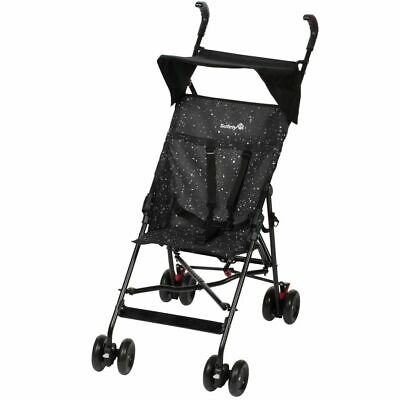 Safety 1st Buggy with Canopy Peps Splatter Black Toddler Pushchair 1182323000