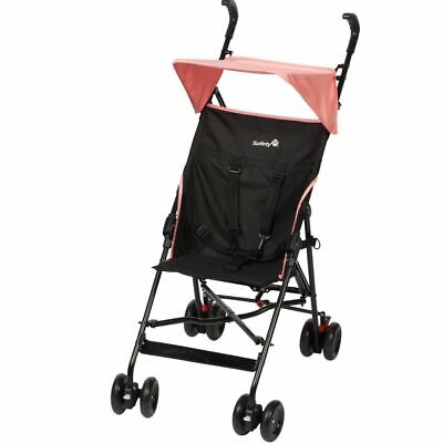 Safety 1st Buggy with Canopy Peps Black and Pink Toddler Pushchair 1182326000