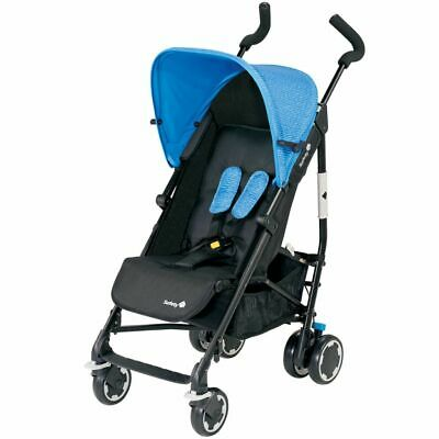 Safety 1st Buggy Baby Stroller Pushchair Compa City Black and Blue 1260325000