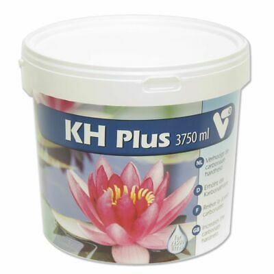 Velda VT KH Plus 3.75 L Pond Water Solution Fish Plants Healthy Garden 142078