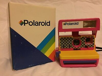 Polaroid 600 Pink Color Instant Camera