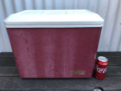 Retro Esky Maroon Fair Condition Holden Ford Valiant Pick Up Only Melbourne