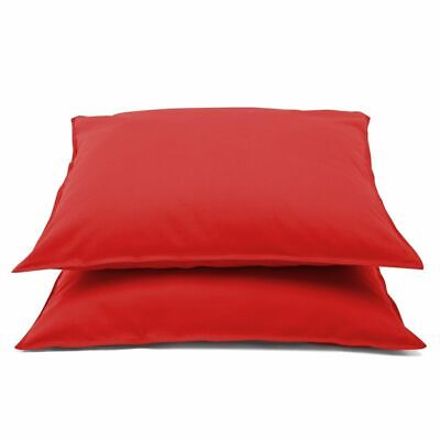 Emotion 2 pcs Non-iron Pillowcases Bedroom Pillow Cases Covers Red 0222.80.71