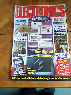 The Maplin Magazine Electronics And Beyond #117 Sept 1997 Photo Shows Content