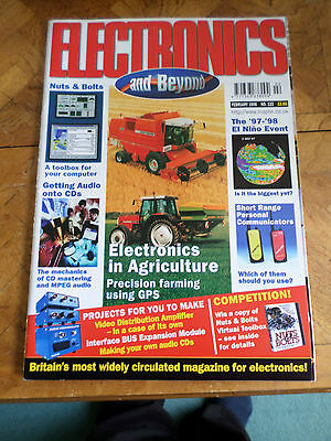 The Maplin Magazine Electronics And Beyond #122 Feb 1998 Photo Shows Content