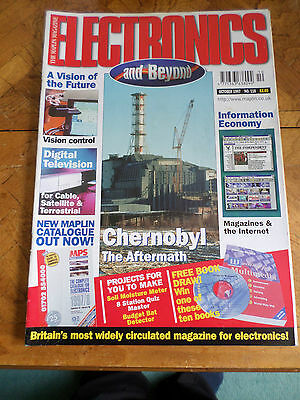 The Maplin Magazine Electronics And Beyond #118 Oct 1997 Photo Shows Content