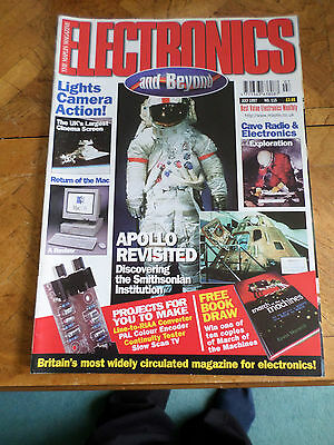 The Maplin Magazine Electronics And Beyond #115 July 1997 Photo Shows Content