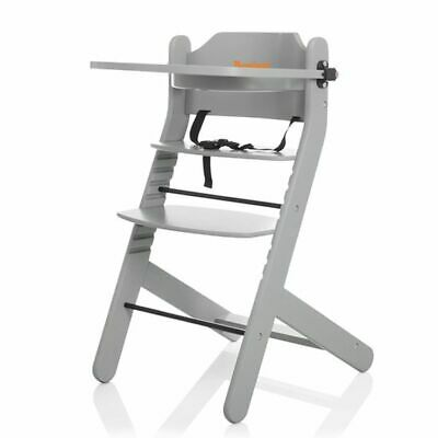 Baninni Baby/Child/Toddler Feeding High Chair Dolce Mio Light Grey BNDT003-LGY