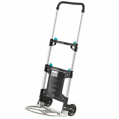 wolfcraft Hand Truck Trolley TS 300 30 kg 2 Height Settings Foldable 5530000