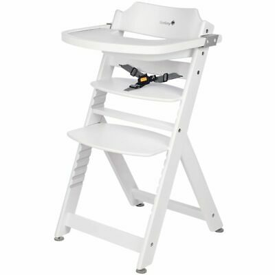 Safety 1st High Chair Baby Child Feeding Adjustable Timba White Wood 27624310