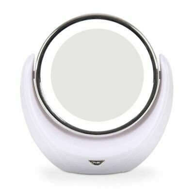 Rio Makeup Cosmetic Mirror Double Sided 1x & 5x Magnifying LED Illuminated MMLD