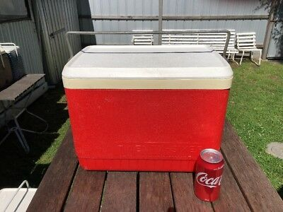 Retro Willow Cooler Red 26L GC Holden Ford Valiant VW Pick Up Only Melbourne