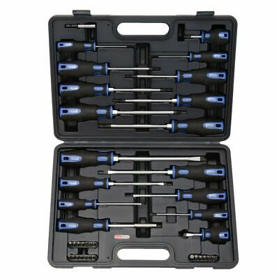 KS Tools Screwdrivers and Bit Set 39 Pieces Repair Kit with Storage Case