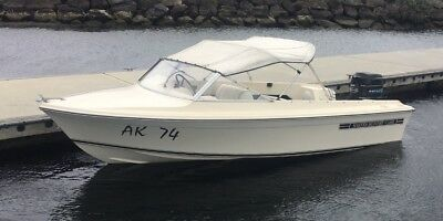 Haines Hunter V146R 80HP Mercury Outboards Tilt and Trim