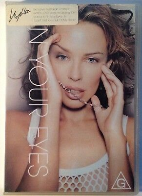 Kylie Minogue  In Your Eyes  Limited Edition Australia DVD PAL