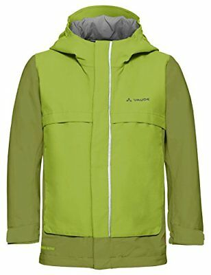 VAUDE Kids Racoon Jacket V, Giacca Bambini, Verde-Holly Green, 110/116 (Z1y)