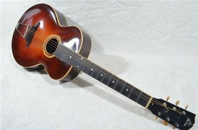 RARE Pre-WWII Gibson Sunburst L3 Acoustic Archtop Guitar w/ Hard Case
