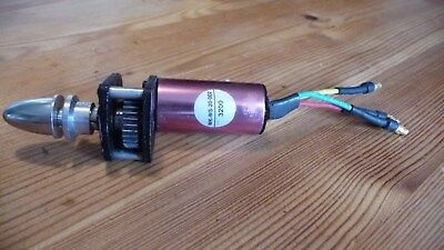 RC brushless motor and gearbox