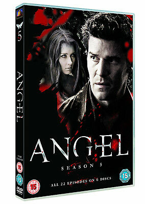 ANGEL COMPLETE SEASON 5 DVD Series Brand New and Sealed Original UK Release