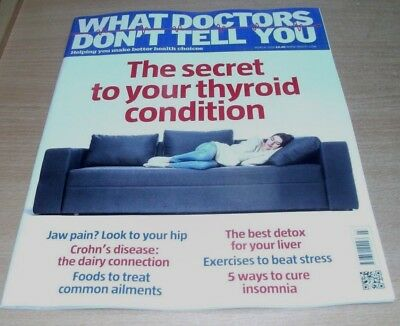 What Doctors Don't Tell You magazine MAR 2018 Thyroid, Crohn's Disease, Insomnia