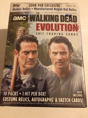 "L@@k Amc The Walking Dead  "" Evolution "" 2017 Factory Sealed Box"