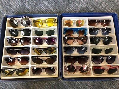 Job Lot 24 pairs of assorted sunglasses - Car Boot - Resale - Wholesale - REF055