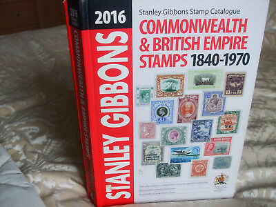 Stanley Gibbons Commonwealth Catalogue 2016, used