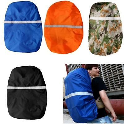 Large Waterproof Backpack Rain Dust Cover Protector with Reflective Stripe