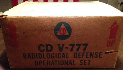 Radiation detect kit, Civil Defense home and shelter security +FREE SHIPPING! @@