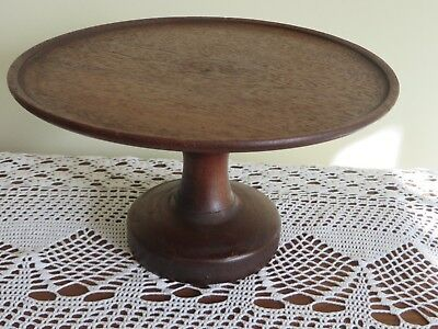 Vintage Wooden Cake Stand/ Plate French