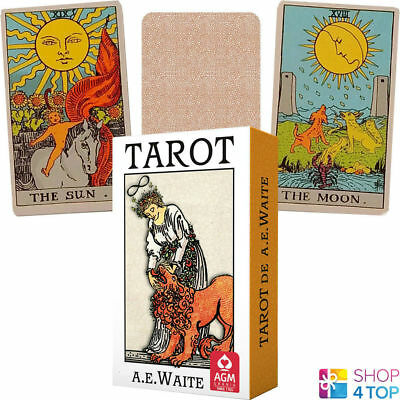 Ae Waite Tarot Pocket Deck Cards Premium Edition Fortune Telling Agm New