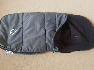 Bugaboo Universal Footmuff Black cosytoes cositoes winter  liner