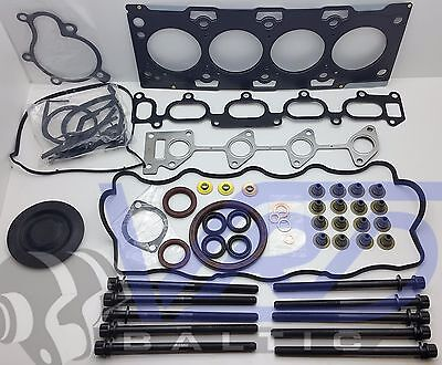 HYUNDAI SANTA FE KIA CARENS 2.0 CRDi FULL ENGINE GASKET SET + HEAD BOLTS D4EA