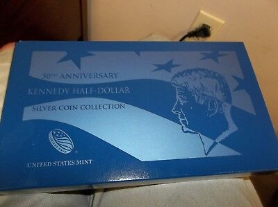 2014 Kennedy Half Dollar 4 piece  set  - 50th Anniversary