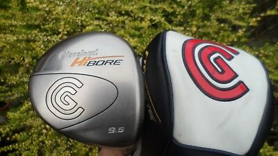 Cleveland Hi Bore, Right Handed Graphite Shafted 9.5 Degree Driver,