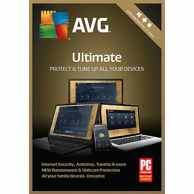 AVG ULTIMATE 2019, Un-limited Multi-Devices 2 Years (LATEST DOWNLOAD VERSION)