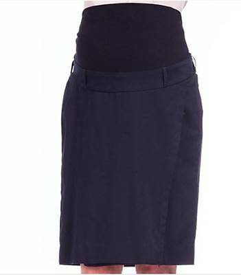 BNWT Maternity Corporate Skirt Black Size 8 - 22